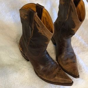 Distressed Old Gringo boots